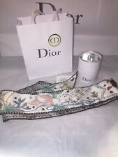 Christian Dior Mitzah Scarf L'amoureux Handbag Accessory Box Tags Gift Bag