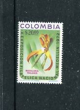 Colombia 803, MNH, Maxillaria Triloris, PHILATELY EXPO Medelin 1972. x23040
