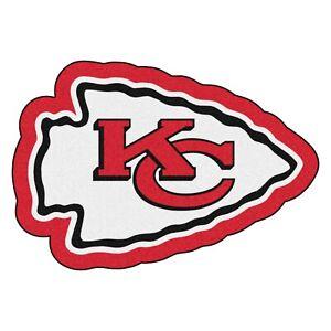 Fanmats NFL Kansas City Chiefs Mascot Mat Area Rug Bath Mat Delivery 2-4 Days