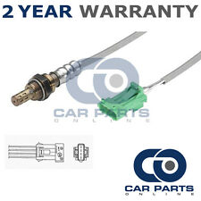 FOR RENAULT SCENIC MK3 1.2 TCE 2012- 4 WIRE FRONT LAMBDA OXYGEN SENSOR EXHAUST