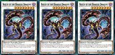 Beelze of the Diabolic Dragons LEHD-EN036 X 3 Mint YUGIOH Effect Synchro Monster