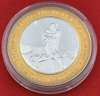 Casino Strike $10 Babe Ruth New York Yankees Silver Token Las Vegas 20-2935AK