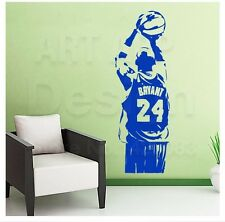 Removable Wallpaper NBA Kobe Wall Sticker Basketball Poster Vinyl Room Decor