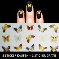 Nagelsticker Nail Sticker Fingernägel Aufkleber Tattoo Nageldesign Schmuck Y.202