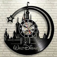 Walt Disney World Vinyl Clock  Themed Gift Vintage Record