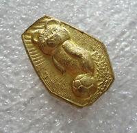 Soviet Russian USSR Olympic Mascot MISHA Bear Moscow Games Pin Badge Rare