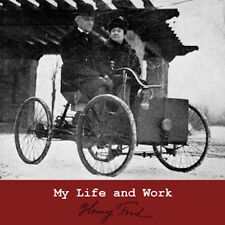 My Life and Work, Henry Ford Autobiography Business Guru Audiobook 10 Audio CD