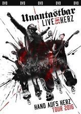 Live Ins Herz (Ltd.Erstauflage Inkl.Usb-Stick) von Unantastbar(2017) DVD Neuware