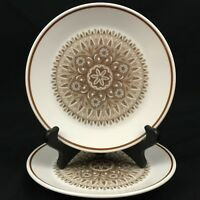 "Set of 2 VTG Bread Plates 6 1/4"" by Noritake Progression Century 9044 Japan"