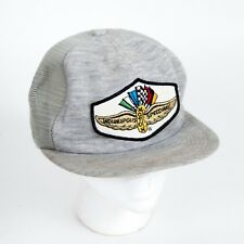 VTG K Products Indianapolis Motor Speedway Heather Gray Snap Back Trucker Hat