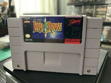 Lord of the Rings Volume 1 - SNES Super Nintendo Video Game - Cart Only