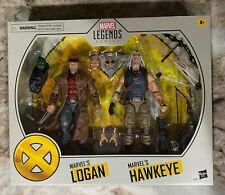 Marvel Legends Hawkeye and Logan X-Men Series Action Figure 2 Pack NIB In Hand🔥