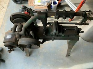 Antique Rare Vintage Champion Blower & Forge Power Hack Saw Near 100 Years  Old!