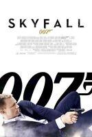 JAMES BOND ~ SKYFALL ~ GUN SLIDE ~ REGULAR 24x36 MOVIE POSTER ~ Daniel Craig 007