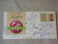 Cricket Souvenir First Day of Issue Envelope with Signatures 1982