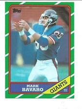 1986 TOPPS MARK BAVARO #144 NM GIANTS