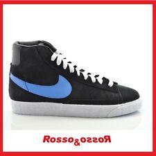 half off edeab de586 Scarpe NIKE BLAZER MID VINTAGE da bambino bambina donna 37,5 Sneakers nere  blu