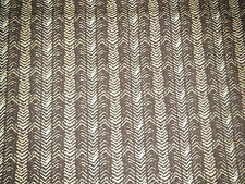 Brown tone abstract print cotton fabric/material - Fat quarter