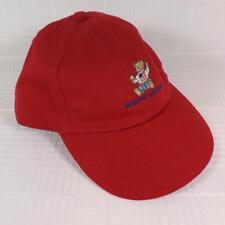 Ralph Lauren Polo Teddy Bear American Flag Baby Toddler Infant Baseball Cap Hat