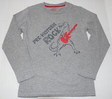 mini Boden rock guitar t-rex top t-shirt boys 9 10 yrs EXC