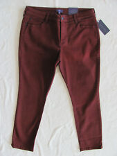 NYDJ Not Your Daughter's Jeans Alina Skinny Jean/Legging- Oxblood-Size 18P-NWT