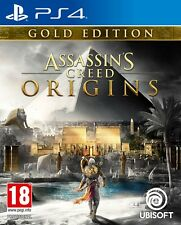 ASSASSINS CREED ORIGINS Gold Edition - PS4