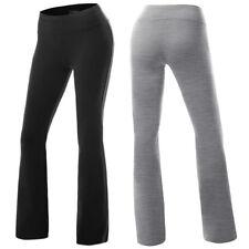 Fashion Womens High Waist Yoga Fitness Flared Loose Casual Dance Pants Trousers