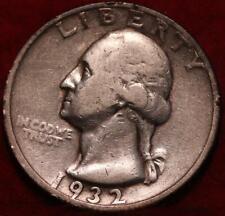 1932-D Mint Silver Washington Quarter