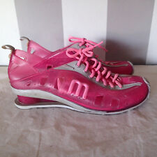 Melissa Women's Love Grendene Clear / Pink Jelly Lace Up Sneakers Shoes Sz 8 gh