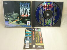 3do Real SHOCK WAVE with SPINE CARD * Panasonic Import Japan Game 3d