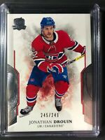 2017-18 The Cup Jonathan Drouin Montreal Canadiens /249