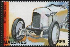 1911 BLITZEN BENZ Mint Automobile German Racing Car Stamp (1997 Maldives)