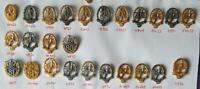 DLV VOLKSLAUF Abzeichen Anstecknadeln teilweise echt Silber gestempelt AUSSUCHEN