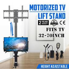 "Motorized TV Lift Mount Bracket For 32-70"" TVs Heavy-Duty Electric 110v Plug"