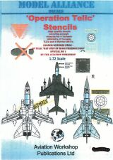 NEW 1:48 Model Alliance 48111 Operation Telic Stencils Typical stencil data
