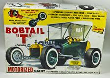 "Vintage LINDBERG model kit 1:8 scale MOTORIZED BOBTAIL""T"" Kit no. 690.998  PARTS"