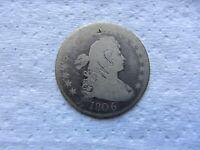 1806 Draped Bust Quarter Good Details   ( graffiti )