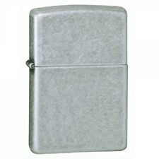 Regular Antique Silver Plate Zippo Lighter - Windproof 121FB