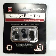 comply tx100 3 paires de mousse intra-auriculaires foam tips  neuf