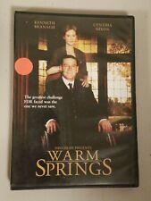 Warm Springs (DVD, 2005) Kenneth Branagh, Cynthia Nixon, Kathy Bates