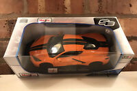 MAISTO 1:18 Scale - 2020 CHEVROLET CORVETTE STINGRAY COUPE DIECAST MODEL ORANGE