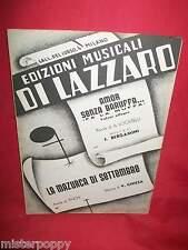 BERGAMINI Amor senza baruffa fa la muffa + CHIESA La mazurca di Settembre 1951