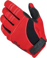 BILTWELL Moto Gloves Sm Red/Black/White 1501-0804-002