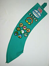 Girl Scouts Sash with Patches Northern California 31198