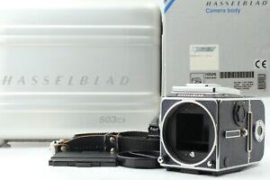 """Top Mint+++ w/ Box & Zero Halliburton Case"" Hasselblad 503 CXi Body Blue JAPAN"