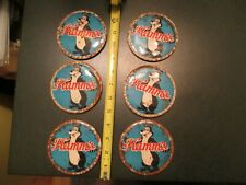 Hamms Beer Vintage 6 Advertising Pinback Buttons Rusty