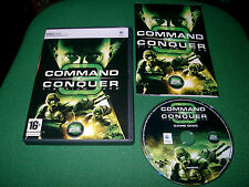 COMMAND & CONQUER C&C TIBERIUM WARS APPLE MAC DVD ( RTS game & complete )