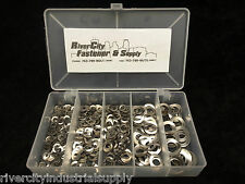 Metric Wave / Curved Washers Assortment 290pc A2 / 18-8 Stainless Steel Din137A