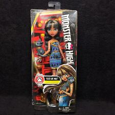 New Monster High Ghouls Beast Pet Cleo De Nile Doll