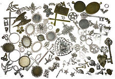 25 Pendants Charms Connectors Wholesale Joblot Random Mix Jewellery Making